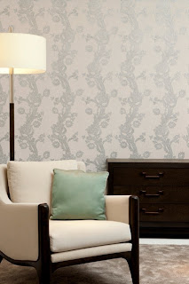 Fabric wallpaper drapery curtains service Brisbane