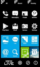 WP7 Plus v1.1 | GO Launcher EX Theme