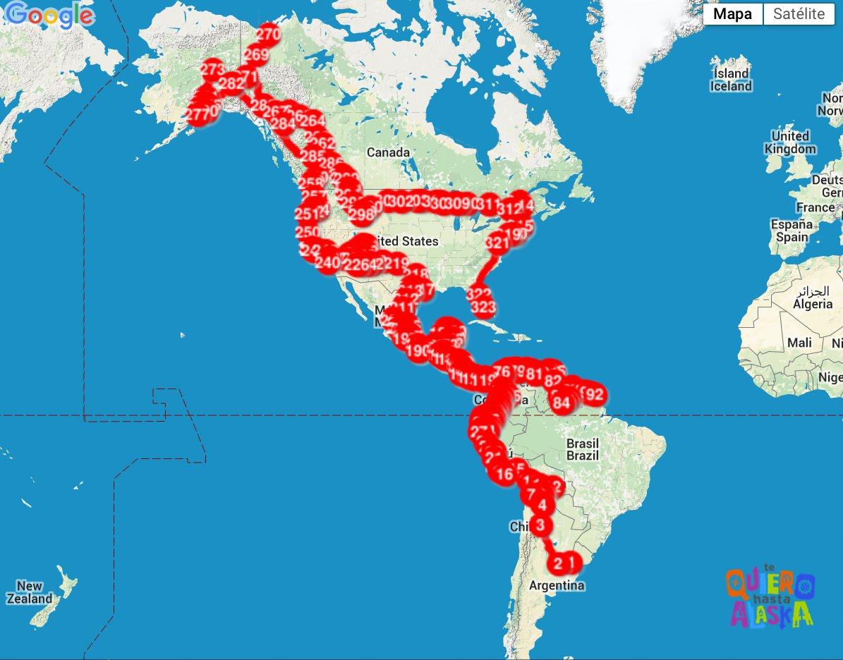 Viajamos durante 862 días! Recorrimos 78.202 km!