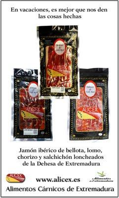 jamon iberico loncheado envasado al vacio