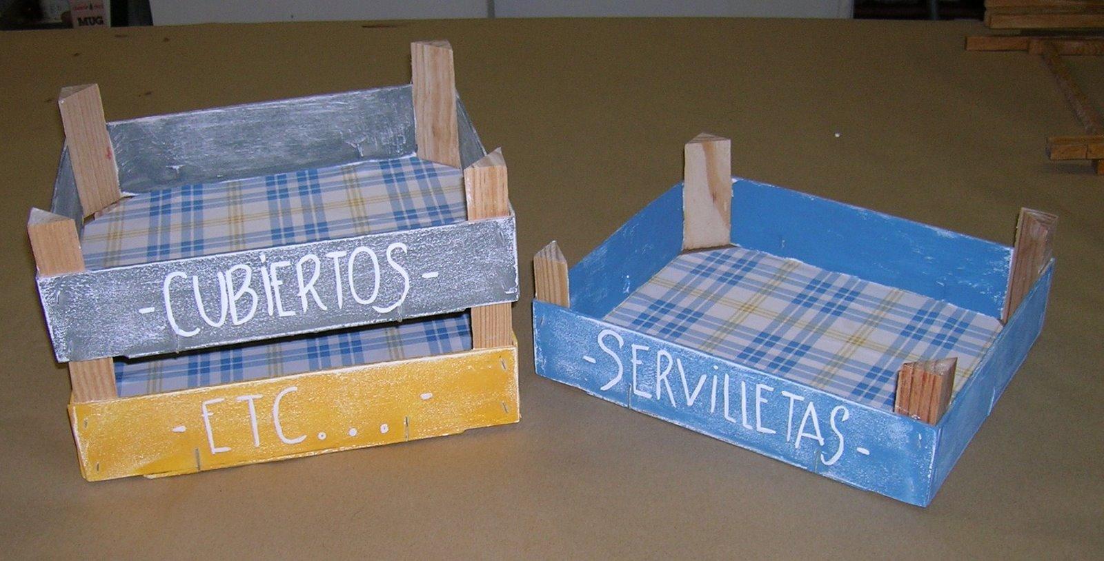Reciclando cajas de frutas y verduras construccion y - Manualidades con cajas de frutas ...