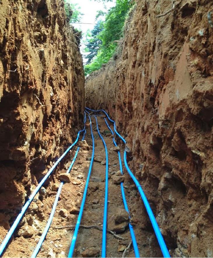 DIY Ground Source Heat Pump + PV Array -- No Heat Bills!