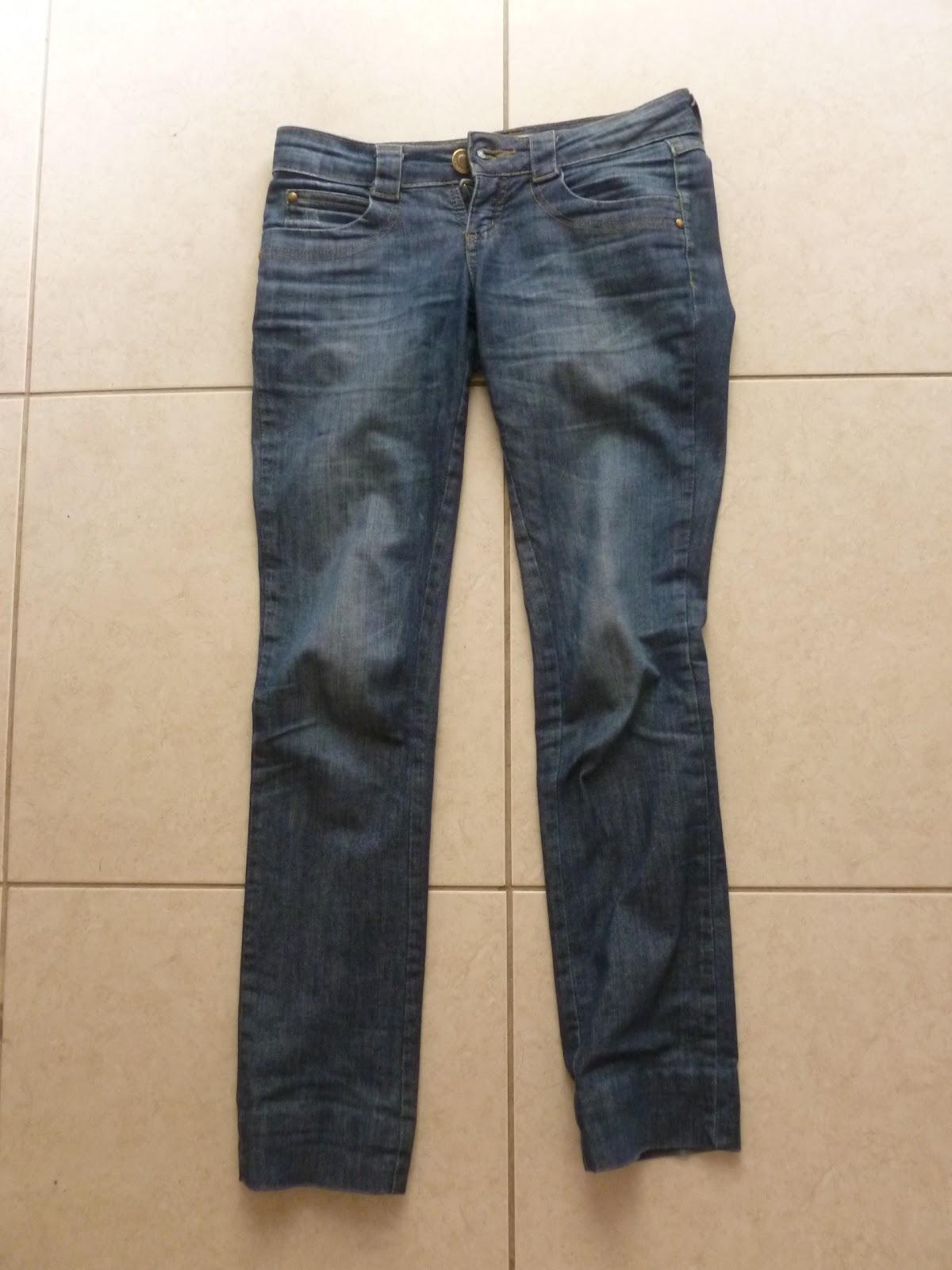 como transformar calça jeans antiga