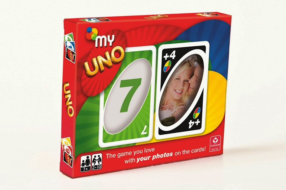 My Uno - The game you love with your photos on the cards!