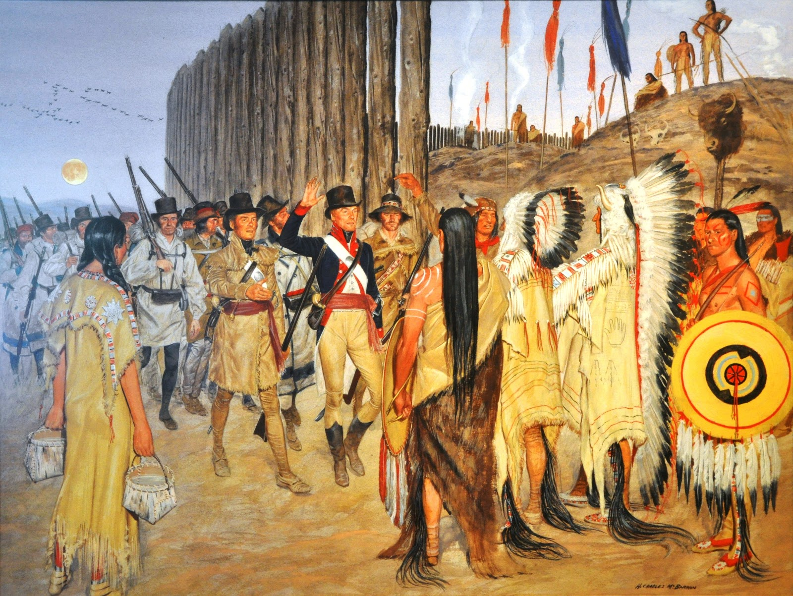 facts about the mandan tribe Intertribal trade washington matthews  the mandan are much more crafty than the assiniboin in  they are not all of the same tribe but some are.