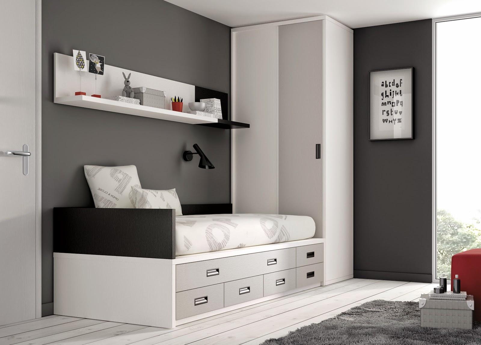 Muebles ros camas compactas las reinas de la habitaci n for Literas originales para un cuarto juvenil