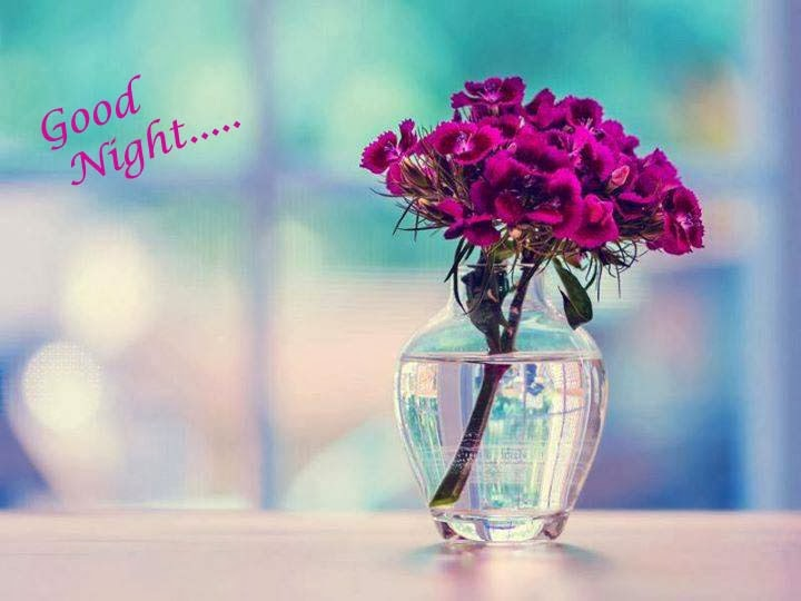 good morning with purple wallpaper