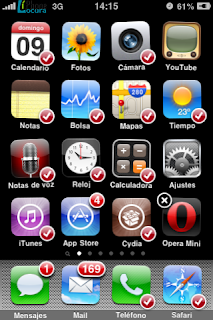 mover iconos iPhone