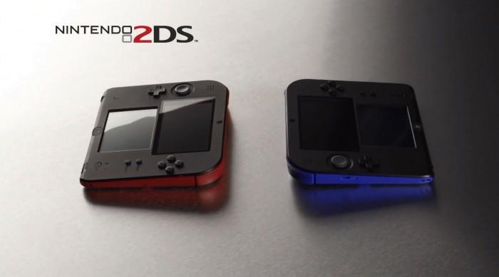 """Anuncian la """"Nintendo 2DS"""" una versión económica de la 3DS"""
