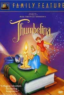 DVD box Thumbelina 1994 animatedfilmreviews.blogspot.com