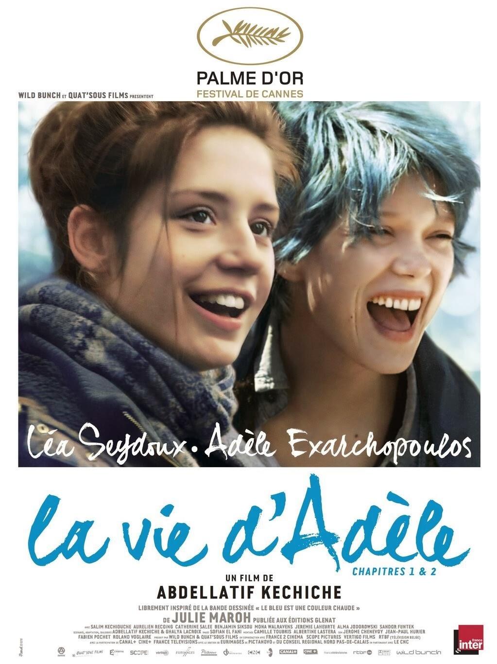 la vie d'adele blue is the warmest colour