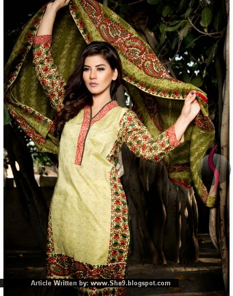 Pareesa Lawn 2015 Vol-2 with Prices