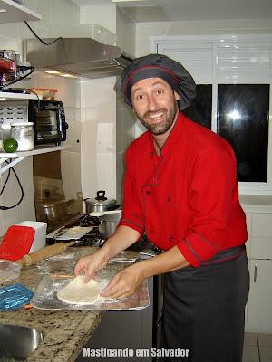 Ivano Bragonzi - Personal Chef: Preparação da Massa da Pizza