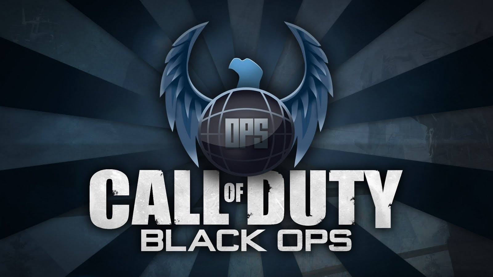 Call of Duty Black Ops Skull Logo HD Wallpaper ~ picture for wallpaper
