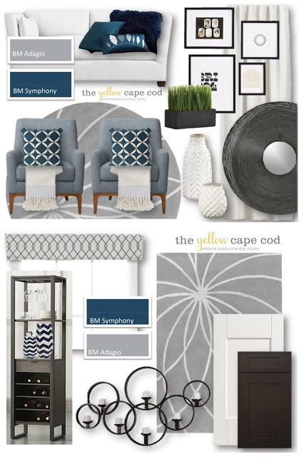 It Addressed Their Kitchen Dining Room And Family If You Missed Here Is A Quick Peek At The Design Board