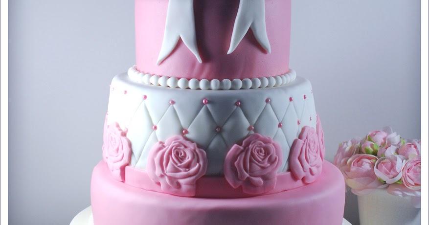 Favori La Dinette de Nelly: Mon premier wedding cake {Mariage *C&L* et  EE26