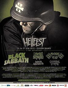 Lynyrd Skynyrd y Machine Head al HellFest Festival 2012