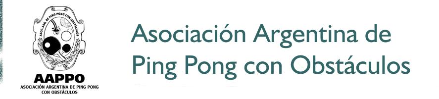 Asociación Argentina de Ping Pong con Obstáculos