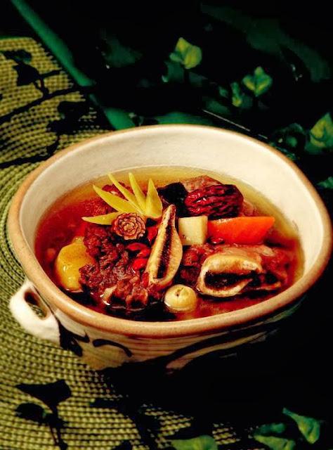 Kelp Yeon power rib soup