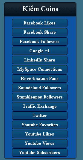 Hướng dẫn cách tăng like sub facebook, google +, website miễn phí, hiệu quả  4