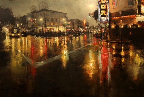 13-City-Lights-Jeremy-Mann-Figurative-Painting-in-Cityscapes-Oil-Paintings-www-designstack-co