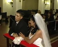 Novio vomita en su boda