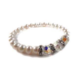 pearl bracelet, elisha francis london, elisha francis jewellery, bridal jewellery, freshwater pearls, handmade jewellery