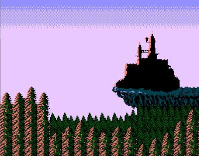 Ending, la fin de castlevania sur nes