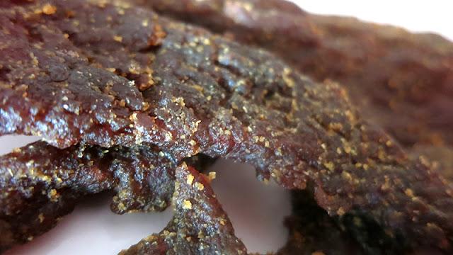 garlic teriyaki beef jerky