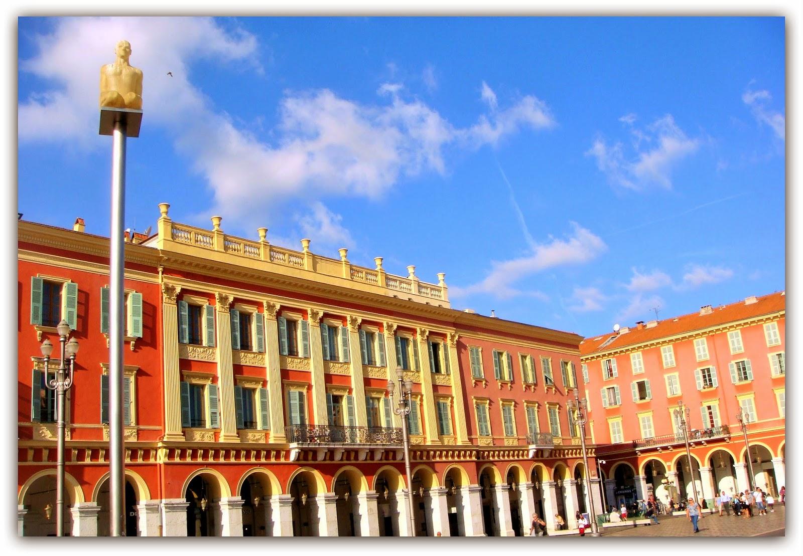 Nizza - Piazza Massena - Black Cat Souvenirs