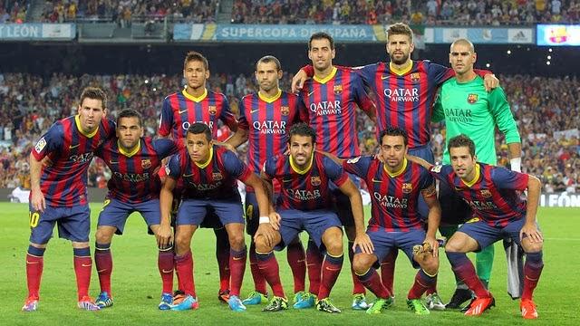 Foto Klub Barcelona Terbaru 2014