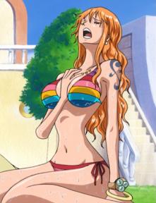 ONE PIECE Nami Bikini