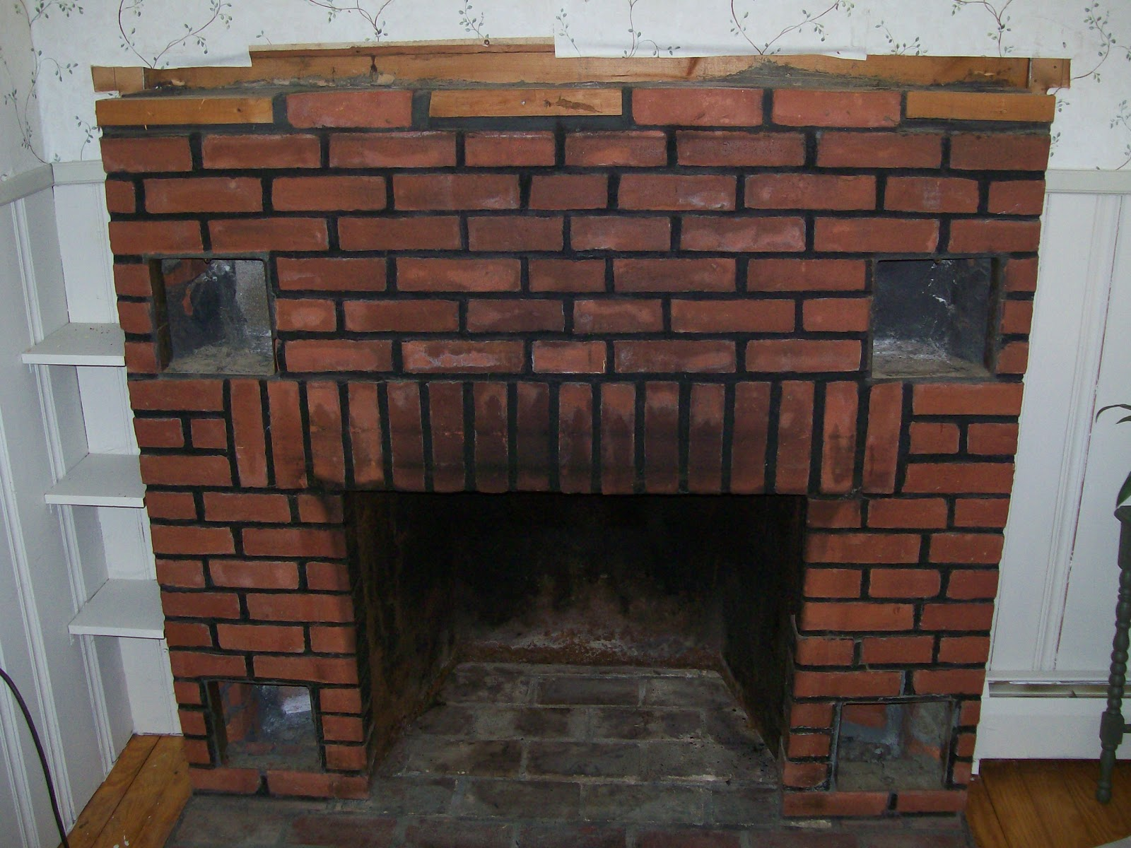 Brick Laminate Picture Fireplaces For Stoves