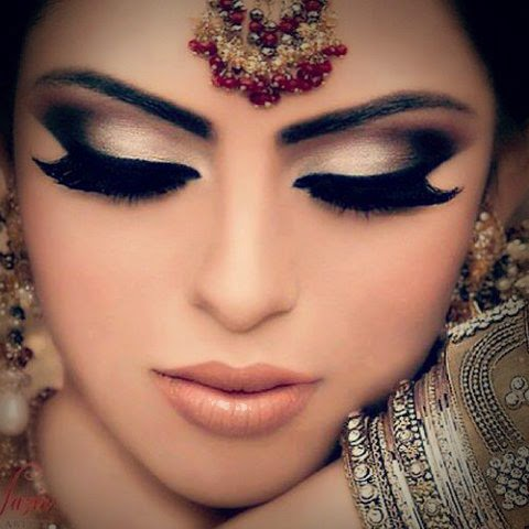 Bridal Makeup Ideas Pictures : new bridal eye makeup 2015 ~ Pak Fashion