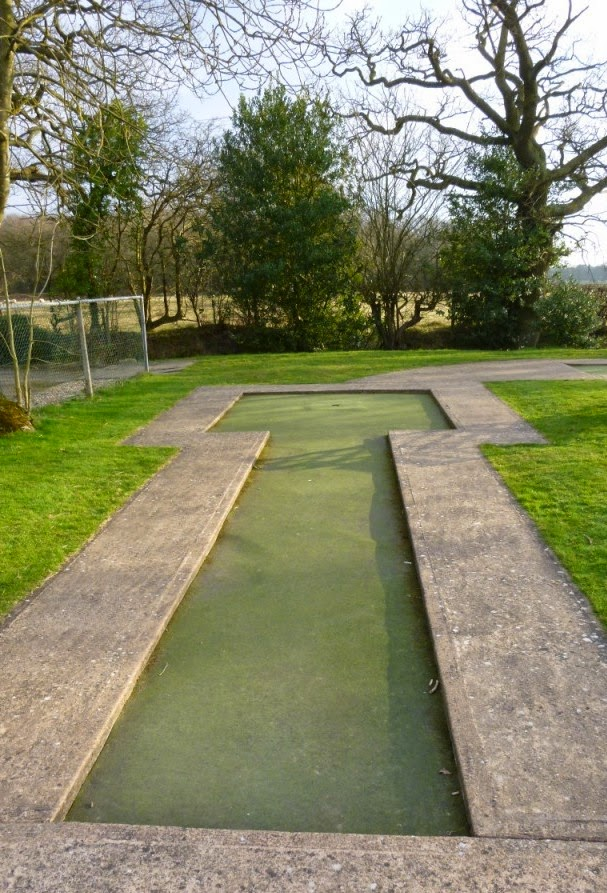 Minigolf course at the Four Ashes Golf Centre in Dorridge
