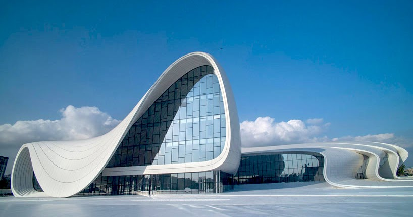 architectural engineering buildings. The Style Examiner: Heydar Aliyev Cultural Centre, Azerbaijan, By Zaha Hadid Architects Architectural Engineering Buildings