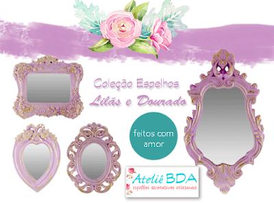 Ateliê BDA Espelhos decorativos