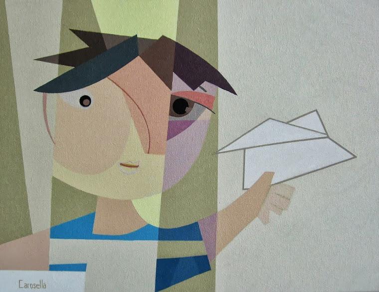 """""""Avioncito de papel"""""""