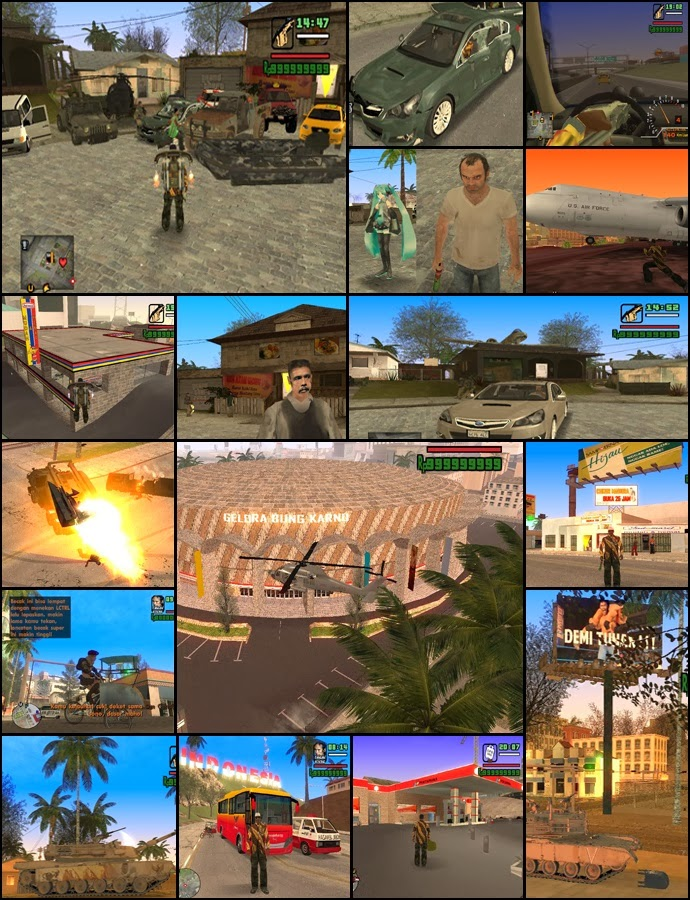 Download GTA San Andreas Indonesia 2014 [EXTREME]
