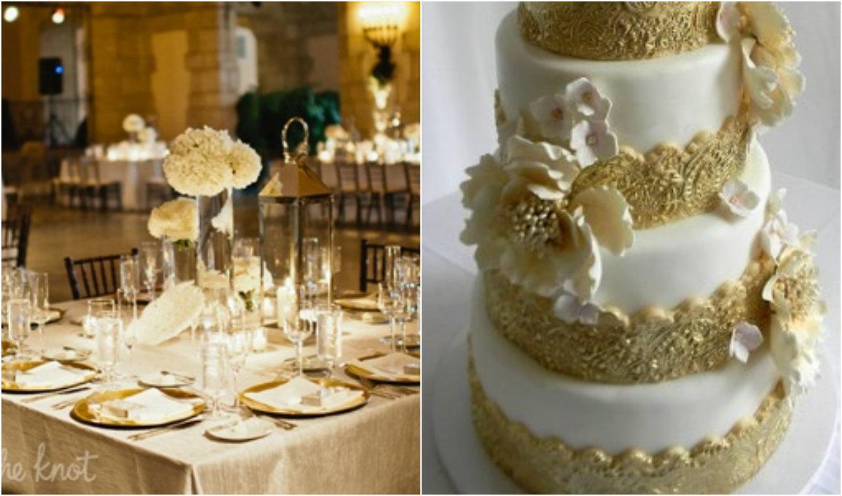 decoracao branca e dourada para casamento : decoracao branca e dourada para casamento: Blog de casamento, casa e maternidade: Decoração BRANCA e DOURADA
