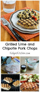 Grilled Lime and Chipotle Pork Chops [from KalynsKitchen.com]