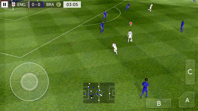First Touch Soccer 2015 v2.09 Apk + Datos SD Mod [Monedas ilimitadas / VIP]