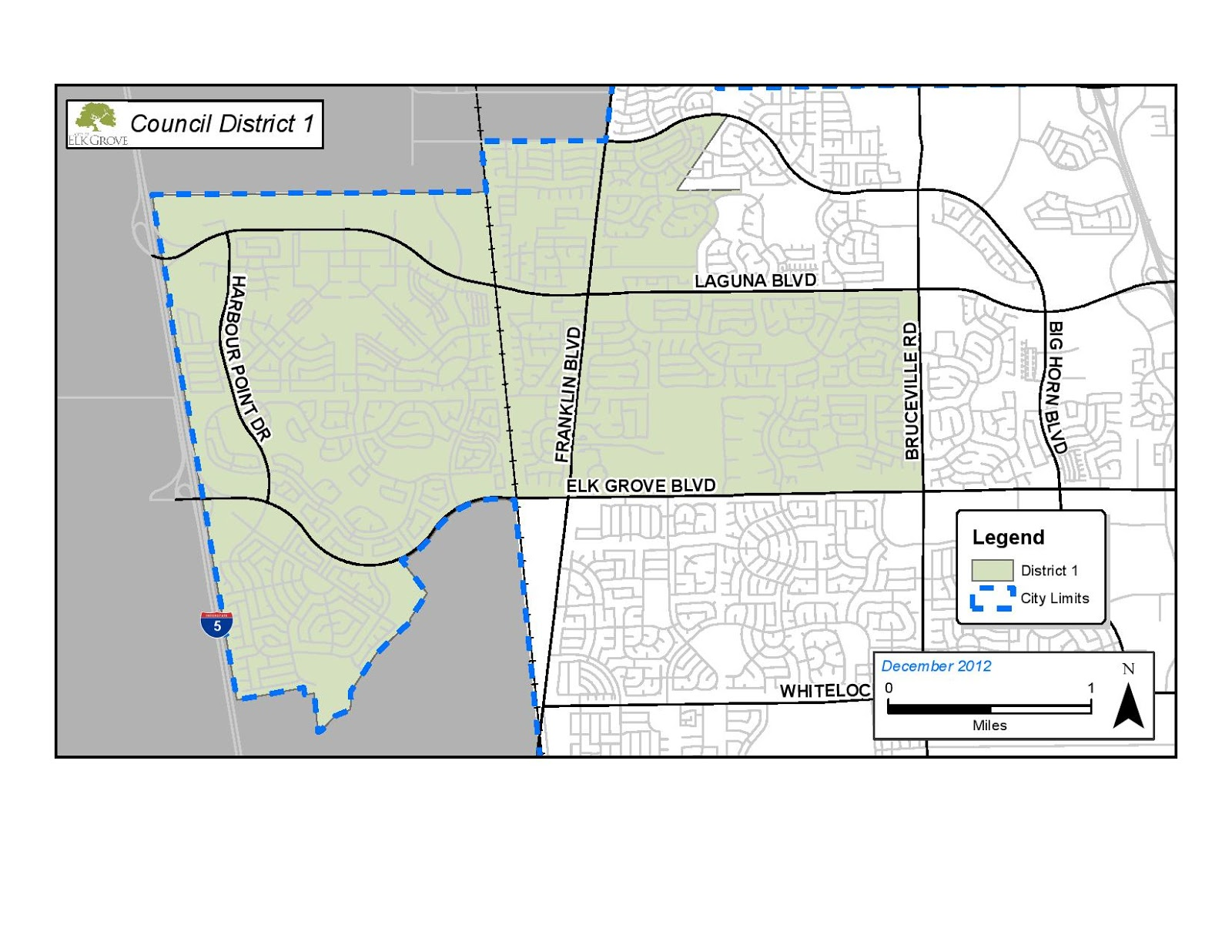 Applications for Elk Grove City Council District 1 Vacancy Now Available