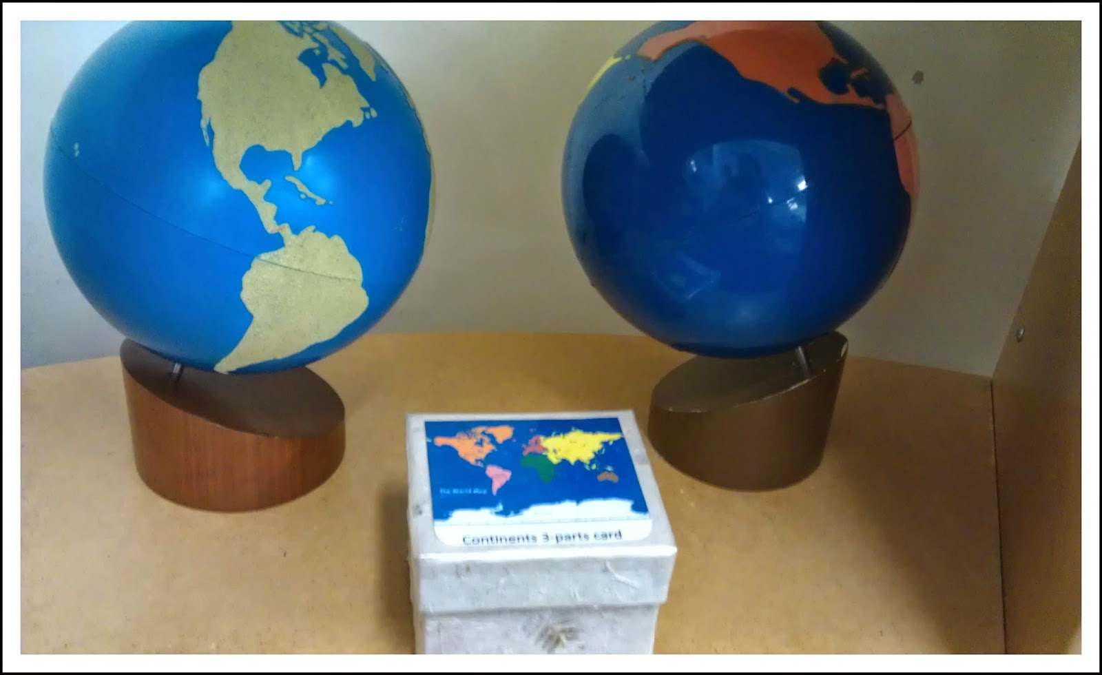 Teaching geography in the montessori classroom montessori nature continents 3 part cards gumiabroncs Images