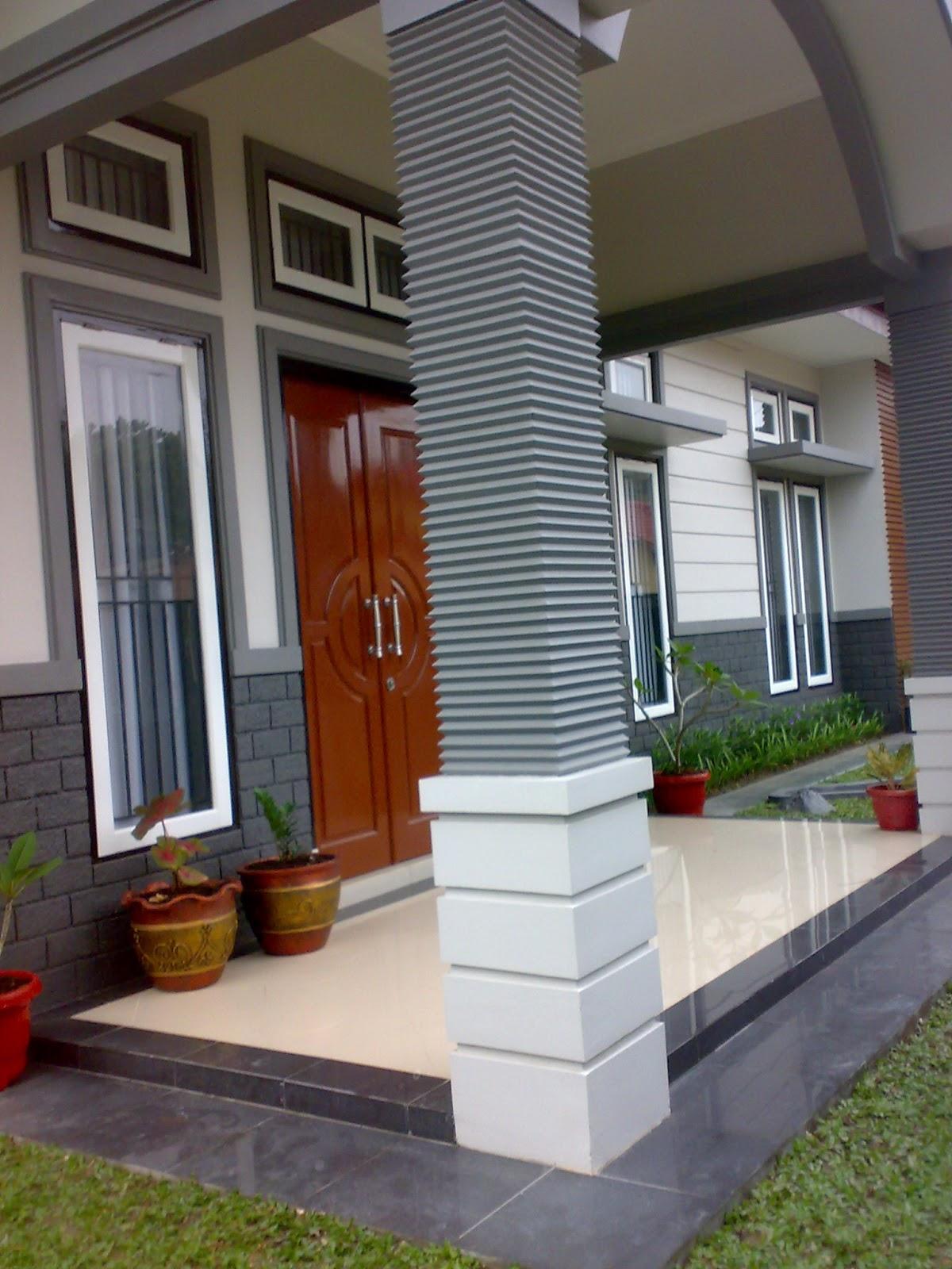 relief teras rumah