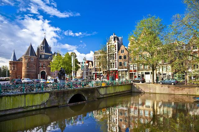 Puedes moverte en bicicleta por Amsterdam