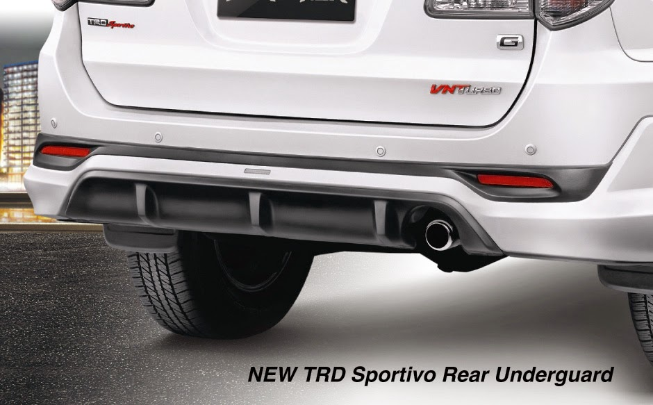 new-fortuner rear underguard