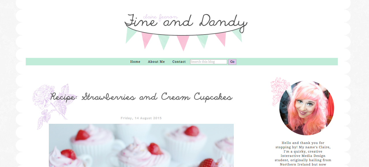 Claire Fine and Dandy Blog A Blog I Love When Feeling Happy