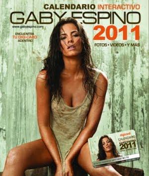 Gaby Espino Calendario 2011