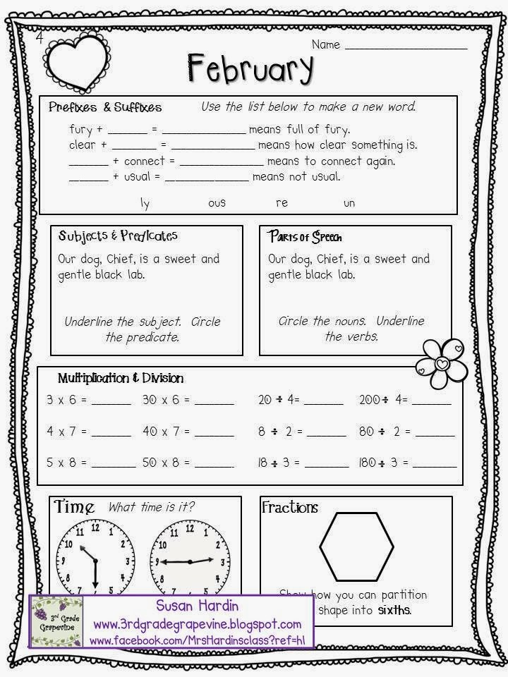 http://www.teacherspayteachers.com/Product/Daily-Math-and-Language-February-1096177